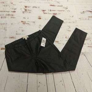 Michael Kors vegan leather legging pants (64)